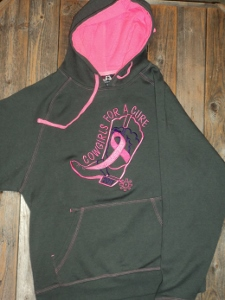 CFAC GREY and PINK HOODY