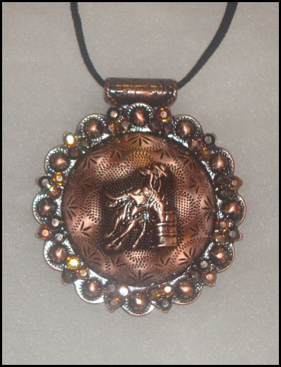 Barrel Racer Concho Necklace