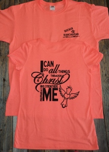 RER I Can Do All Things Tshirt