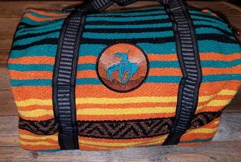 Duffles; Peyote Weekender Bag