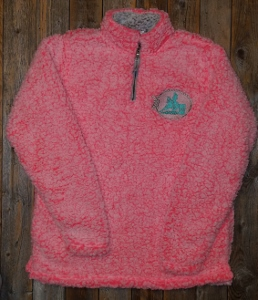 Sherpa pullover; JA ladies