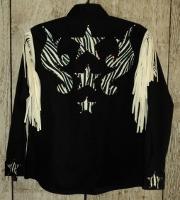 Zebra Scroll Rodeo Shirt