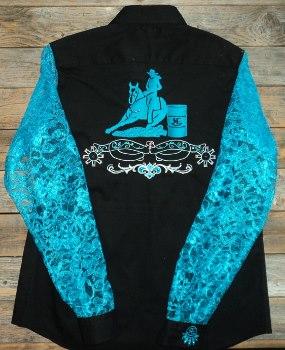 Rodeo Shirt Barrel Racer Spurs