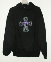 Pray Cross Hoody