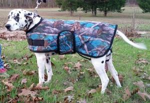 Dog Blanket; Camo