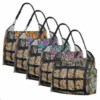 Hay bag; slow feed camo