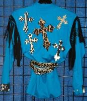 Jungle Crosses Rodeo Shirt
